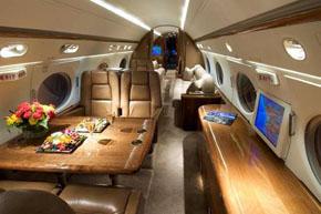 International Jet with rage of 7,000 miles