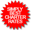 Simply Best Charter Rates sticker