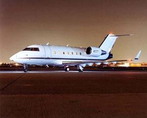 Challenger 601 Vegas Express Jet