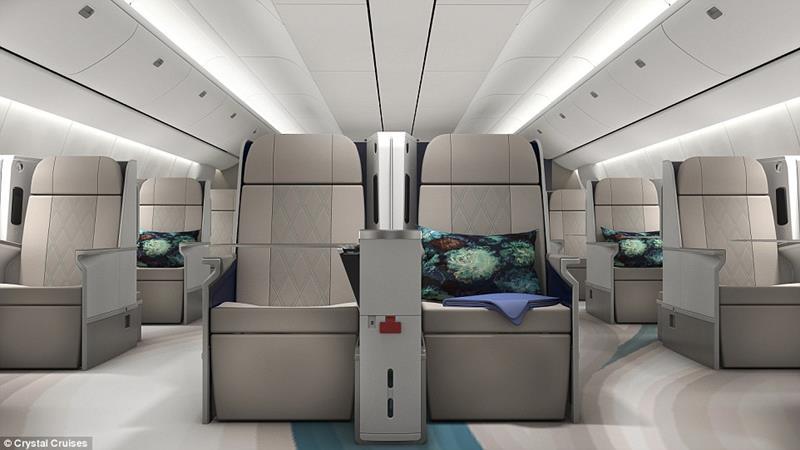 Vegas Express Jet B777 Seating