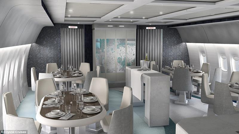 Vegas Express Jet B777 Lounge