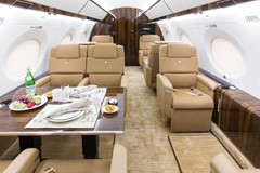 Gulfstream 200 with 10 seats, for quotes call or text us at (1) 702-336-7345
