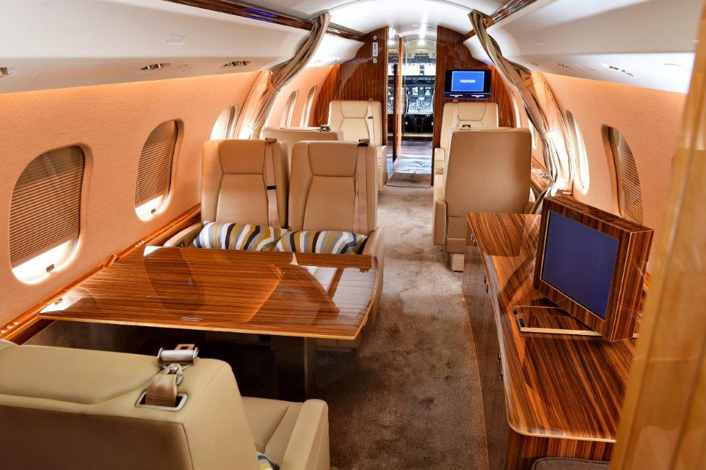 Large Cabin Jets, Seating For Up To 19 Guests–rates From $4,900 To $13,000