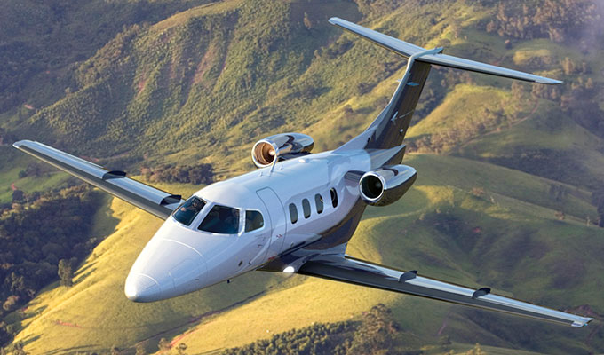 Vegas Express Jet, Very Light Jet Phenom 100